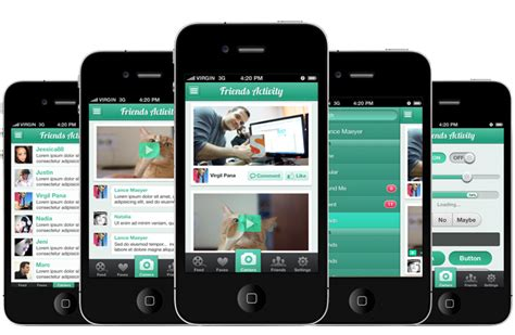 iphone app design template 15 best photos of ios app design template ios app design