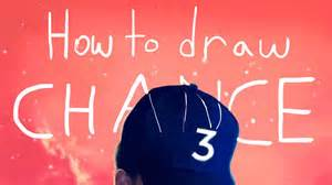 coloring book chance 3 how to draw chance the rapper s quot coloring book quot