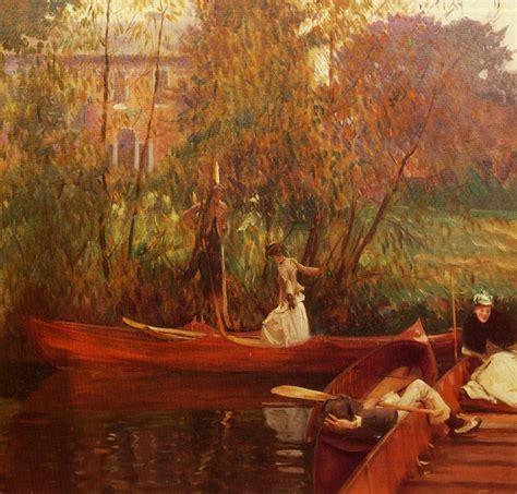 painting reproductions painting reproduction of sargent a boating