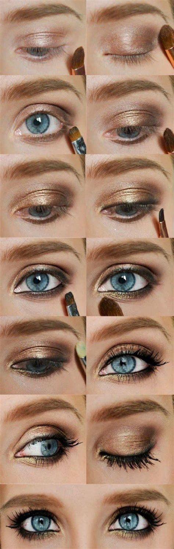 eyeshadow tutorial for blue eyes colorful eyeshadow tutorials for blue eyes eyeshadow