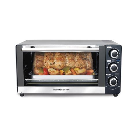 6 Slice Toasters Shop Hamilton Beach 6 Slice Toaster Oven At Lowes Com