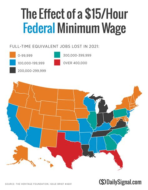 lowest wage find out how many your state could lose with a 15