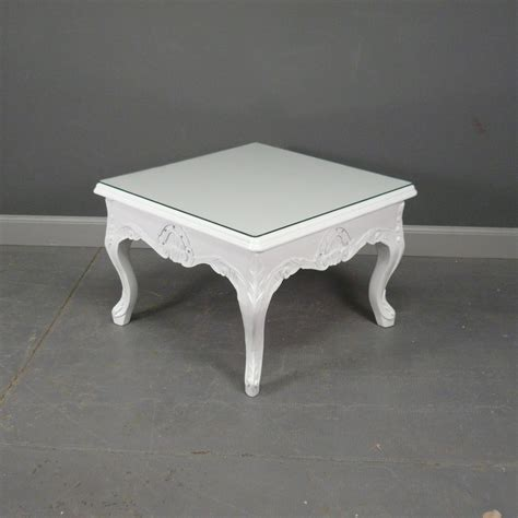 table basse bois blanche table basse baroque blanche meuble baroque