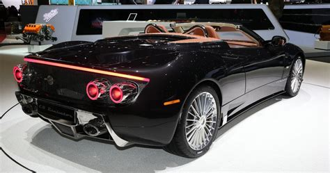 All New Spyker C8 Preliator Spyder Has A 600hp Koenigsegg