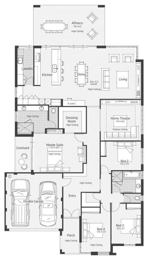 spacious floor plans floor plan friday impressive kitchen e zone and spacious