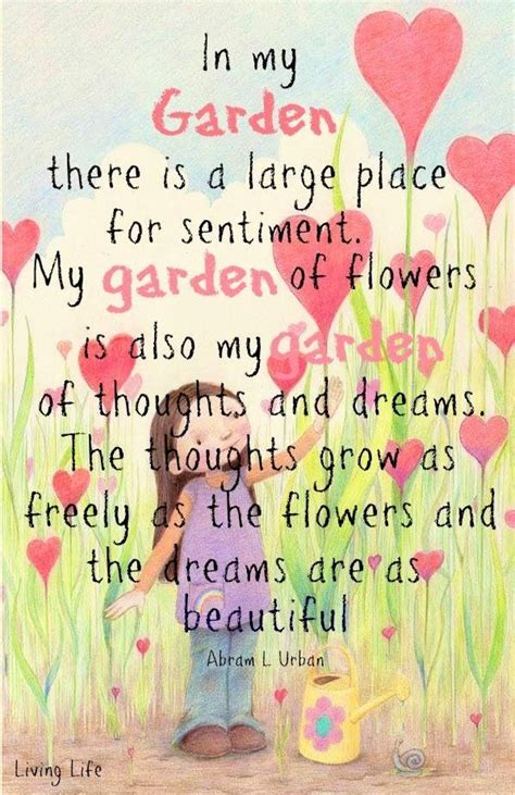 Quote Garden by Inspirational Garden Quotes Quotesgram