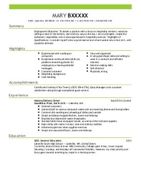 Apartment Housekeeper Sle Resume by Apartment Housekeeper Resume Exle Hsl Desert Sands Casa Grande Arizona