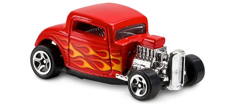 32 ford in hw flames car collector wheels