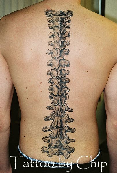 spine tattoos3d tattoos
