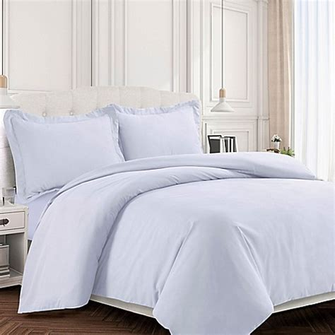 bed bath and beyond valencia buy tribeca living valencia solid king duvet cover set in