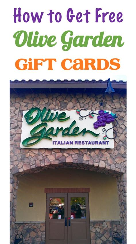 Olive Garden Gift Cards Good At - free olive garden gift card treat yourself the frugal girls