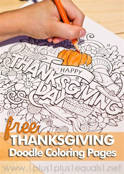 turkey doodle coloring page 10 sources for fun free thanksgiving printables for kids