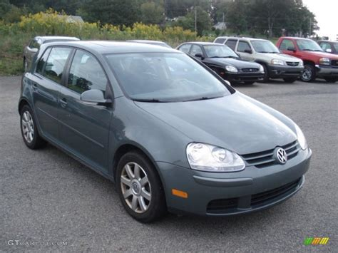 rabbit volkswagen 2007 2007 sage green metallic volkswagen rabbit 4 door