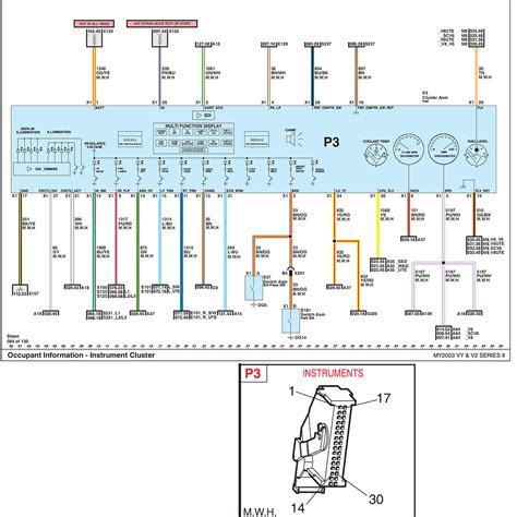 vy instrument cluster pinout wiring diagram just commodores