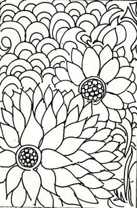 doodle alley flowers 17 best images about color pages on quilt