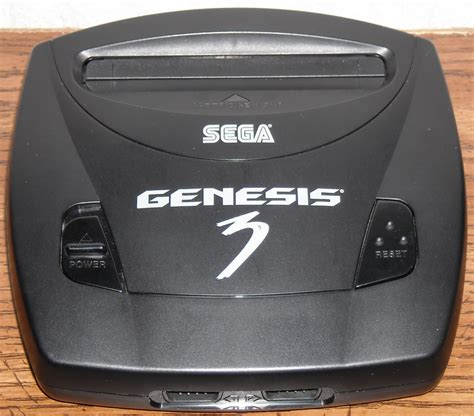 genesis model 3 sega genesis model 3 by majesco