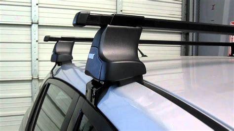 nissan versa roof rack thule nissan versa 4 door sedan with thule 480 traverse base