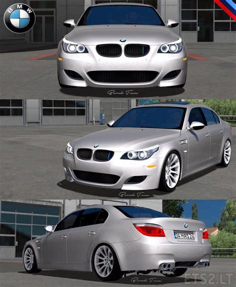 Bmw E60 Interior Mods by Bmw 5 Series E60 Pack V 2 0 Ets 2 Mods