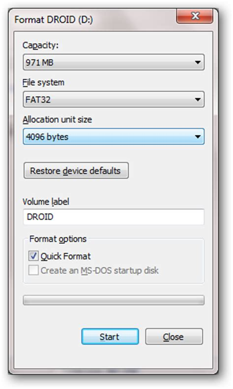 android format sd card exfat format sd card ntfs file system free download programs