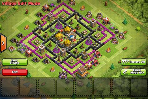 th8 layout new update best th8 farming base