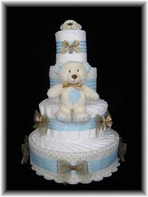beautiful diaper cakes make an elegant and useful baby shower gift mamanista
