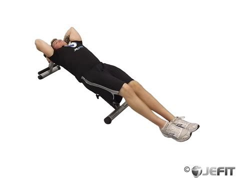 knee bench decline bench knee raise exercise database jefit best android and iphone workout