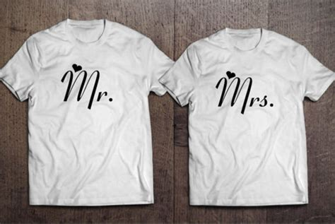 T Shirts For Couples T Shirt White Top Quote On It Wedding Valentines Day