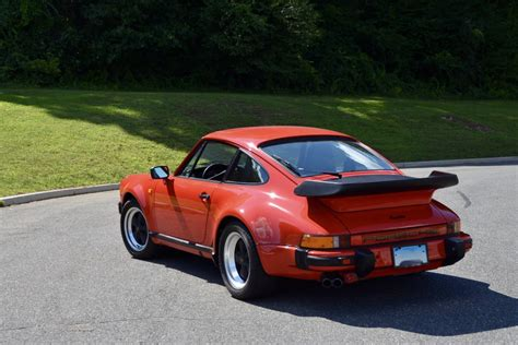 turbo porsche red 1985 porsche 911 turbo in guards red hunting ridge motors