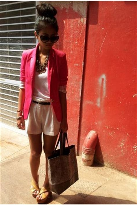 zara blazers new look bags valleygirl shorts quot it s been ages quot by madeofnaf chictopia