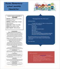monthly newsletter template 9 free word pdf documents