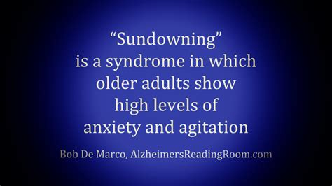 Sundowning Is An Anxiety Syndrome In Dementia Patients Alzheimer S Reading Room Coloring Found Reduce Agitation Aggression Dementia Patients