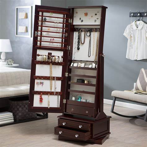 Awesome Wall Unit Jewelry Boxes Images   Simple Design