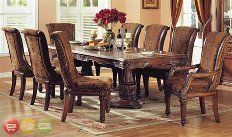 formal dining room sets city associates solid wood dining