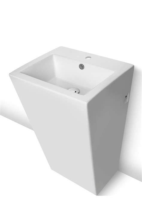 po waschbecken waschtisch stand waschbecken modern wei 223 sanit 228 rkeramik