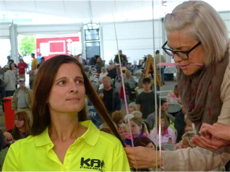haircuts kenora ladies on the lake donate their hair for cancer
