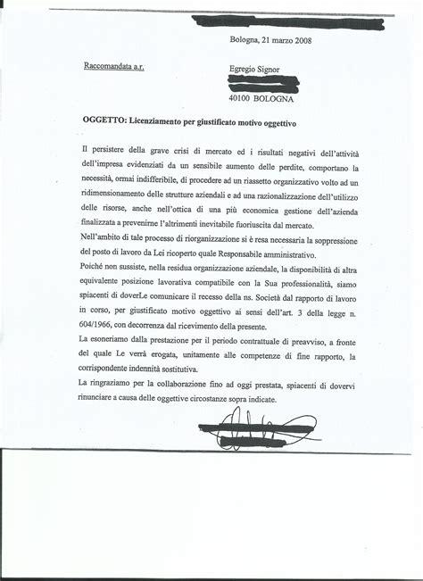 lettere di licenziamento articolo 18 storia di una lettera di licenziamento il