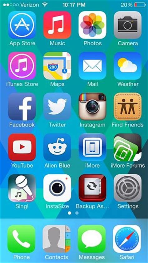 show us your iphone 5s homescreen iphone ipod