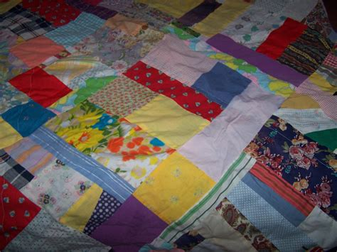 Patchwork Tablecloth - patchwork tablecloth 77 inches handmade vintage