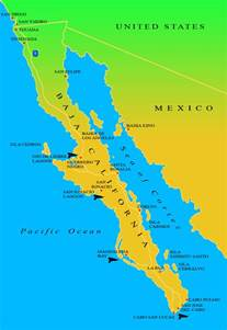 Map Of Baja California Mexico by Map Of Baja California Map3