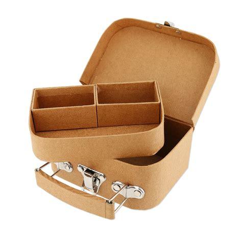 Sekrup 1 12 X 8 valigetta da decorare 12x8x5 cm kraft x1 design perles co