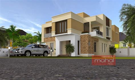 Modern Contemporary House by Contemporary Nigerian Residential Architecture B Ola House