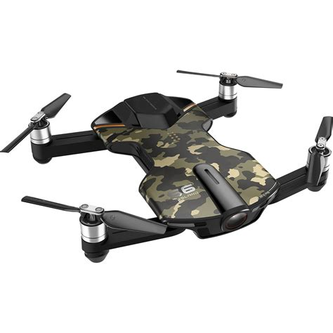 Pocket Drone by Wingsland S6 Pocket Drone Camo S6 Camo B H Photo