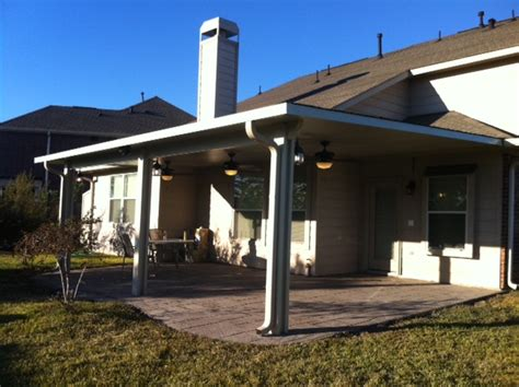 metal awnings houston aluminum patio covers houston patio cover insulated