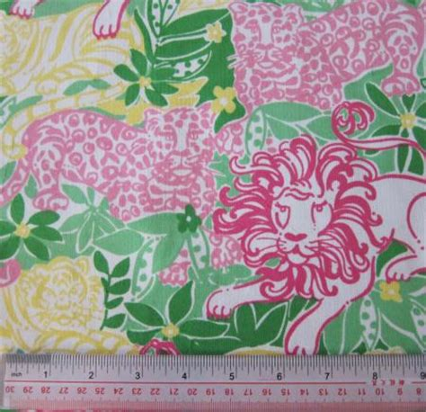 lilly pulitzer upholstery fabric lilly pulitzer fabric animal crackers corduroy 1 yard ebay