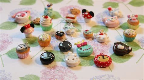 polymer clay charms ideas images