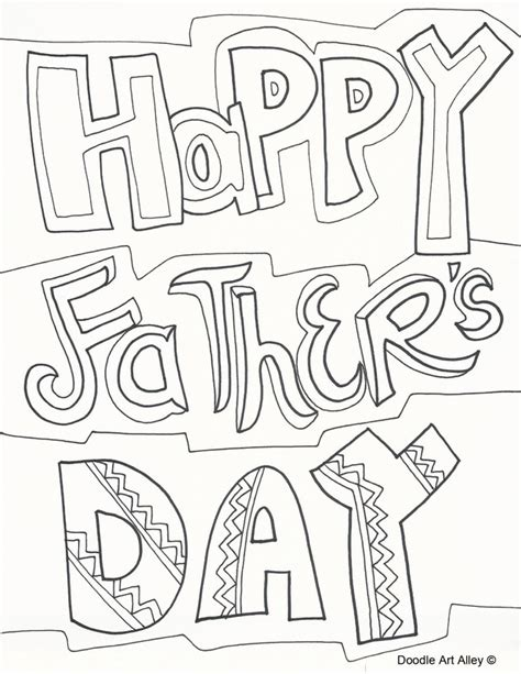 fathers day coloring sheets fathers day coloring pages doodle alley