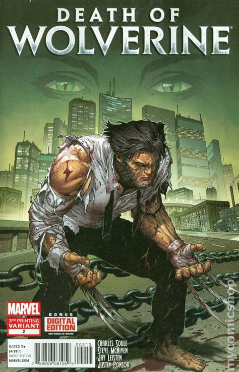 death of wolverine death of wolverine comic books issue 2