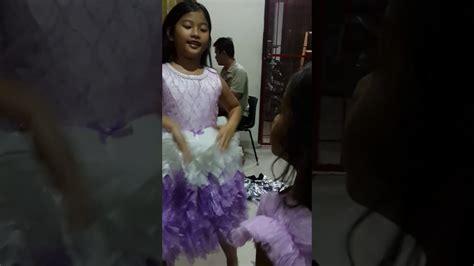 Gaun Dress Pesta Baju Anak Anak Perempuan Ulang Tahun Tutu Terusan baju pesta anak perempuan pakaian ulang tahun gaun kondangan seragam acara dress putu pengantin