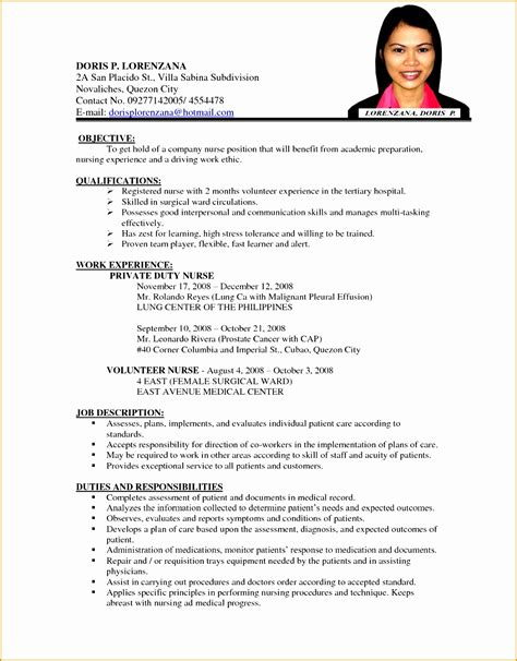 contents of a comprehensive resume 28 images sle resume templates for college students