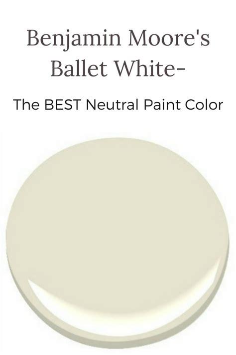 benjamin s ballet white the best neutral color newton custom interiors